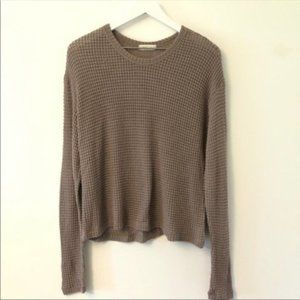 2FOR15 🌴 Sweet Lilac Stretchy Knit Pullover M